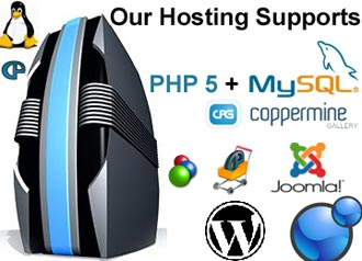 Our Hosting Supports